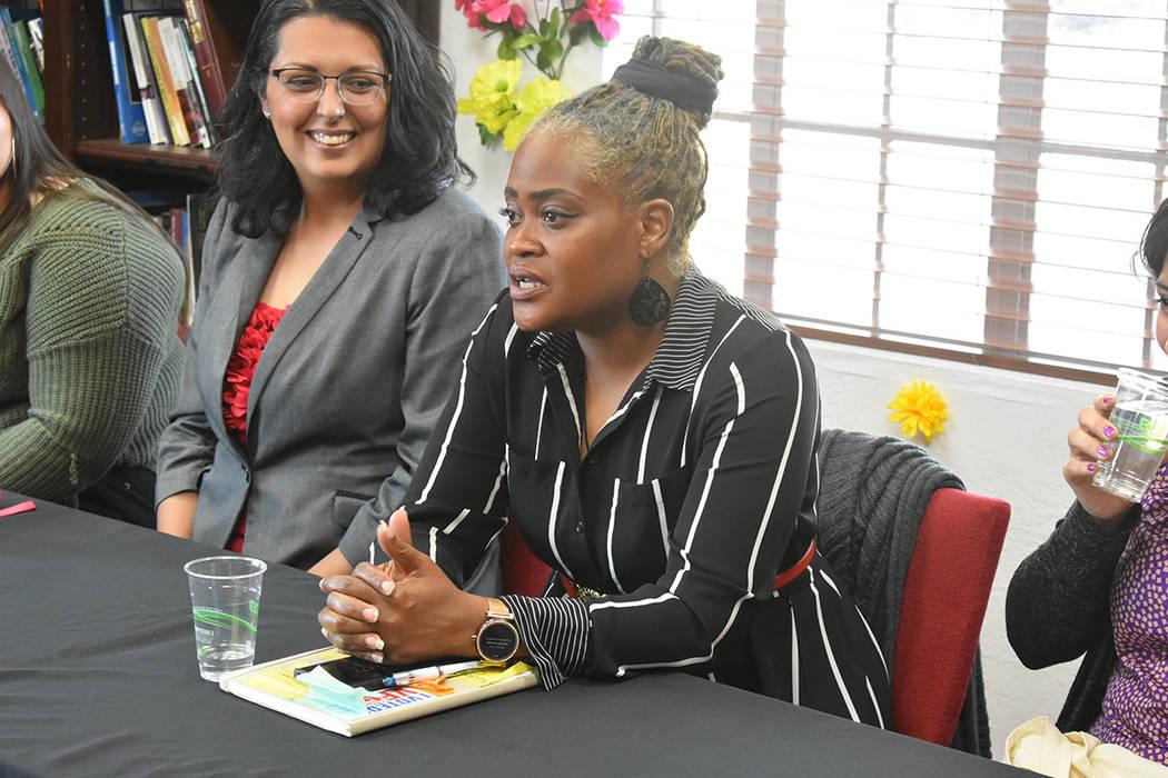 Erika Washington fue una de las panelistas en este evento. Jueves 28 de marzo de 2019 en el Cen ...