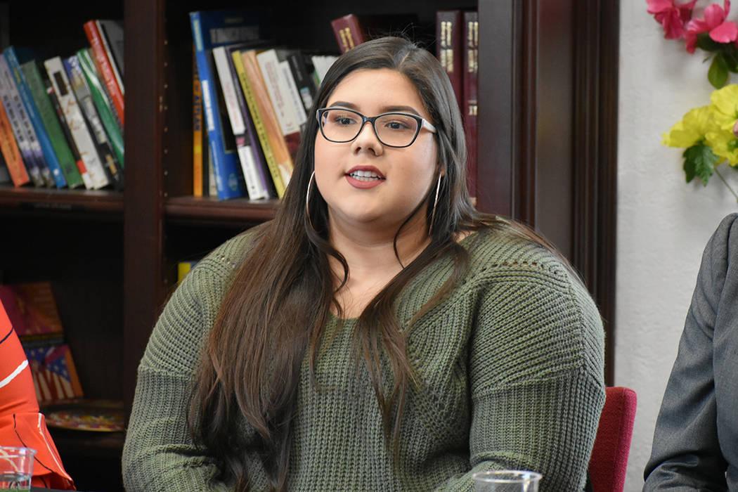 Gabriela Espinoza pidió más aceptación entre los distintos orígenes étnicos. Jueves 28 de ...