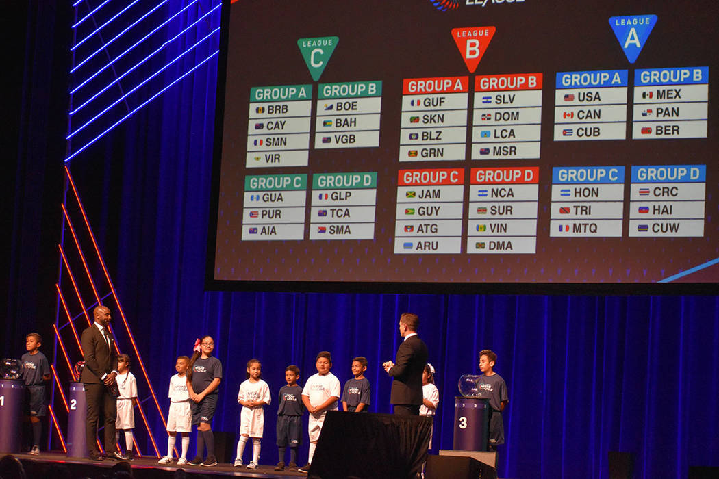 La Liga de Naciones se dividió en tres categorías. Miércoles 27 de marzo de 2019 en el teatr ...
