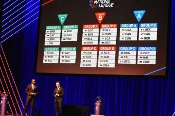 Los grupos para la Liga de las Naciones del Concacaf 2019-20 son los siguientes, (listado en el ...