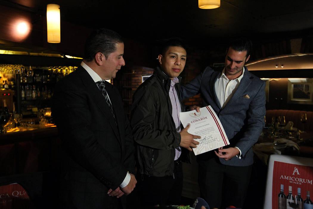 ARCHIVO. México, 30 Ene 2019 (Notimex-Oscar Ramírez).- El boxeador mexicano, Jaime Munguía, ...