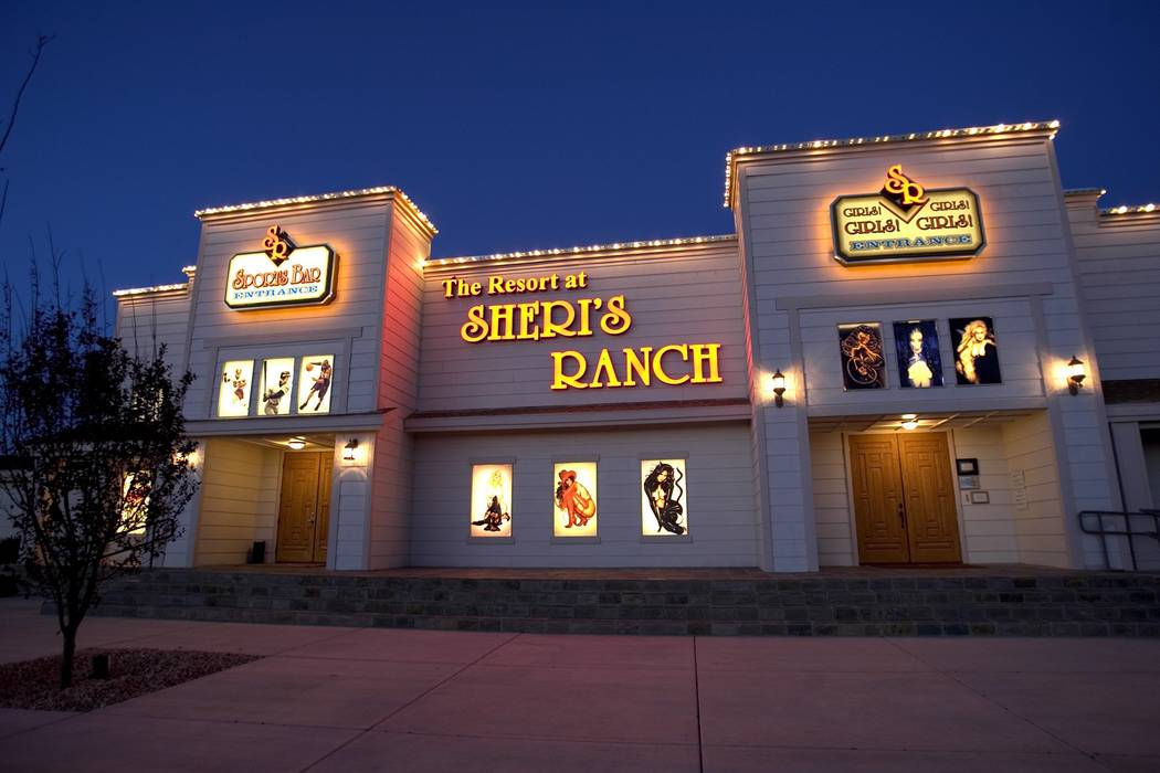 El burdel del Resort at Sheri's Ranch en Pahrump, se muestra en esta foto de archivo de 2005. ( ...
