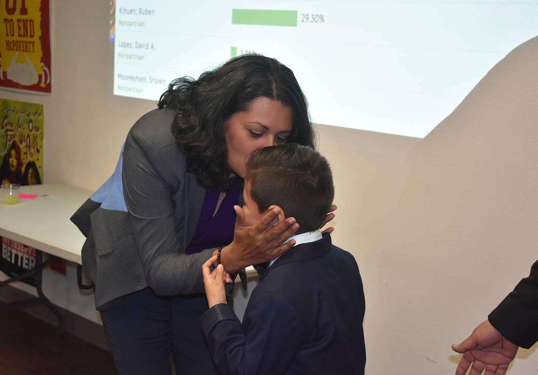 Olivia Díaz obtuvo el primer lugar en las preferencias para concejal por el Distrito 3 de Las ...