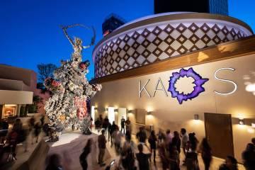 Compuesto por la galardonada firma de diseño Friedmutter Group Las Vegas, el club diurno de 73 ...