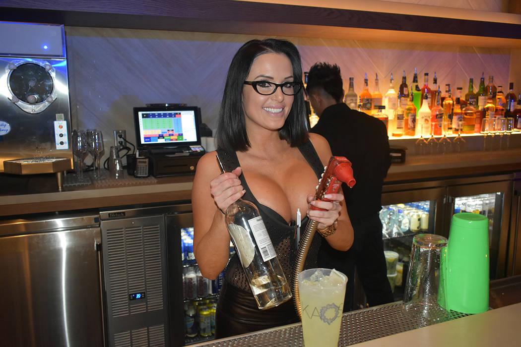 Inauguración del nightclub y dayclub KAOS, en el hotel y casino Palms. Jueves 4 de abril de 20 ...