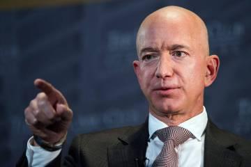 Jeff Bezos. Foto Cliff Owen/AP/REX/Shutterstock.