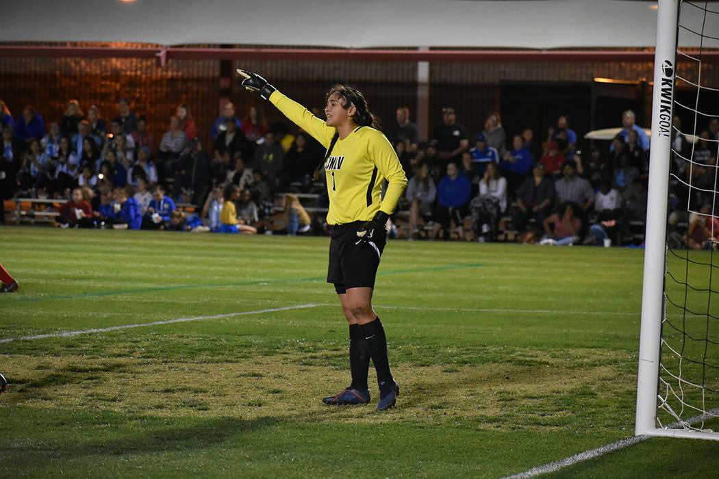 Emberly Sevilla, fue factor para que UNLV derrotara 1-0 a la Selección de Argentina, en un par ...