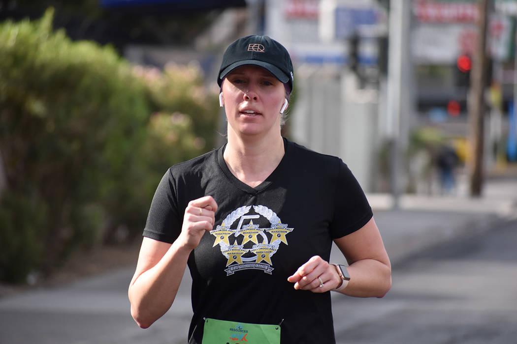 Las Vegas Review Journal apoyó desde el año pasado la carrera 401k organizada por Junior Achi ...