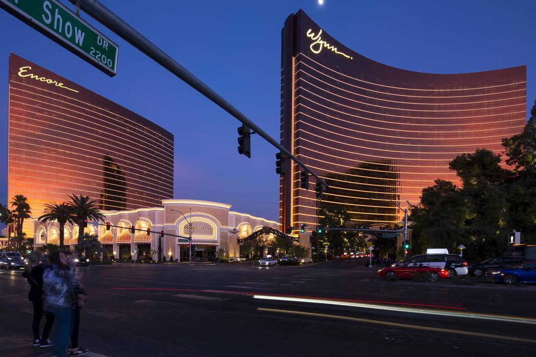 Encore y Wynn Las Vegas en el Strip. (Richard Brian/Las Vegas Review-Journal) @vegasphotograph