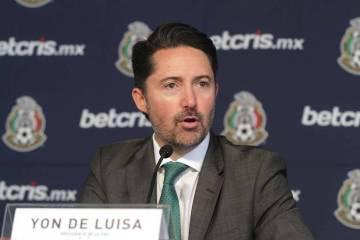 Archivo. México, 11 Abr 2019 (Notimex-Gustavo Durán).- Yon de Luisa, presidente de la Federac ...