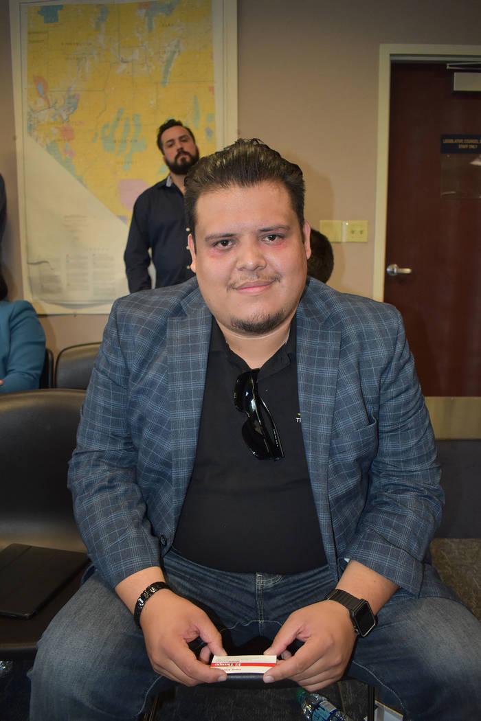 Eddie Díaz, director de campo de The Libre Initiative ofreció su testimonio de rechazo, en un ...