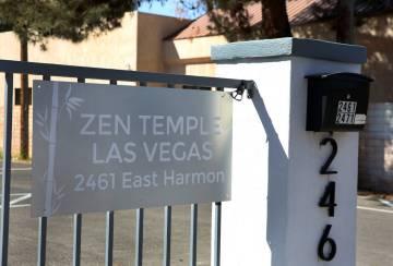 El Templo ZEN en 2461 E. Harmon Avenue, el viernes 29 de marzo de 2019 en Las Vegas. (Bizuayehu ...