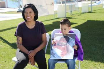 Guadalupe y Liam Herrera sobrevivieron a un parto prematuro. Sábado 13 de abril de 2019 en el ...
