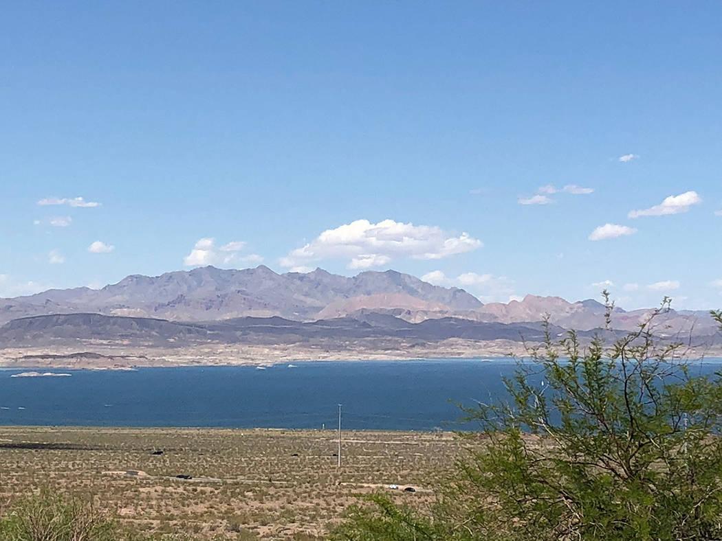 Archivo.- Vista del Lago Mead, desde el Centro de Visitantes, en Nevada. Foto Valdemar Gonzále ...