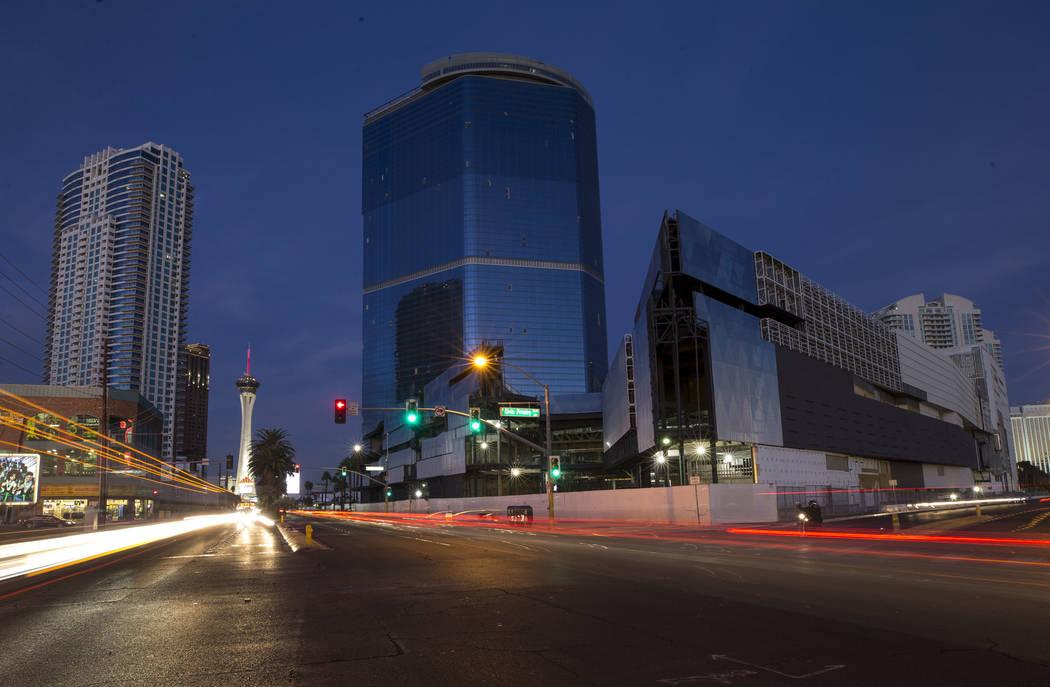 El proyecto inacabado del Fontainebleau en el Strip de Las Vegas, miércoles 13 de diciembre de ...