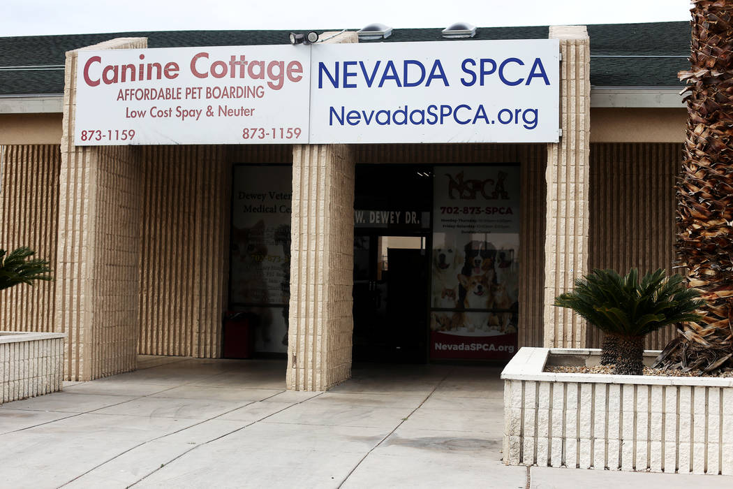 La Sociedad de Nevada para la Prevención de la Crueldad Animal en Las Vegas. La NSPCA anunció ...