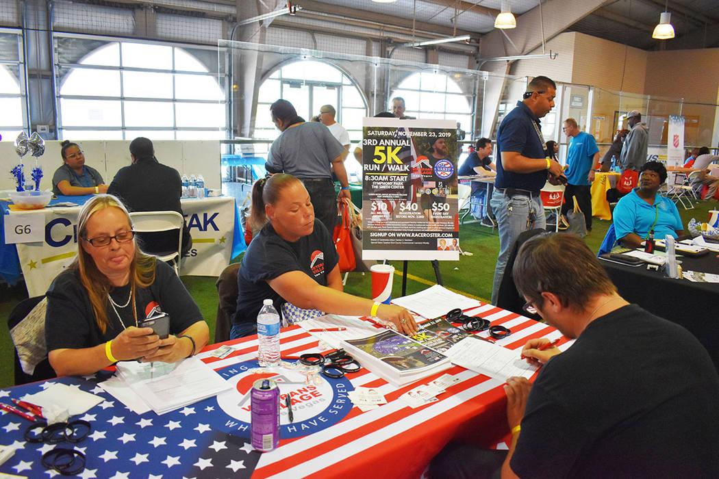 El programa brindó servicios a los veteranos que lo necesitan, entre los que se incluyeron ser ...