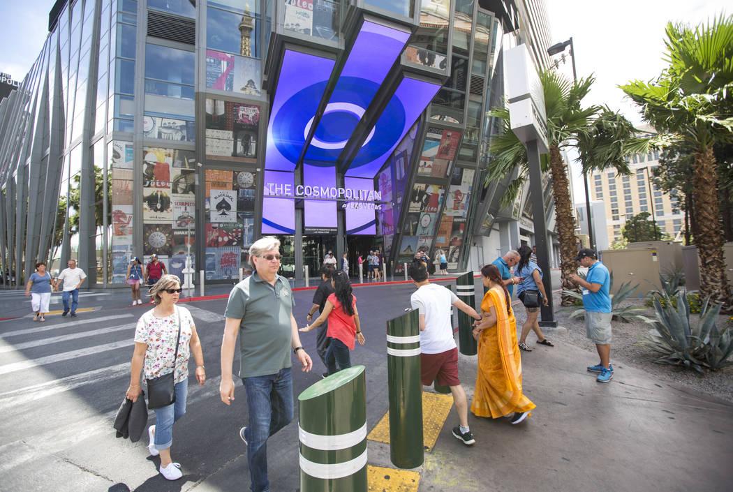 The Cosmopolitan of Las Vegas en el Strip de Las Vegas. (Patrick Connolly/Las Vegas Review-Journal)