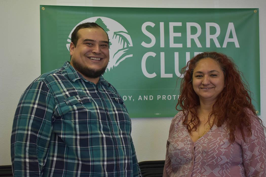 Emyhy Corpus y Christian Gerlach, miembros de la organización Sierra Club, reconocieron la imp ...