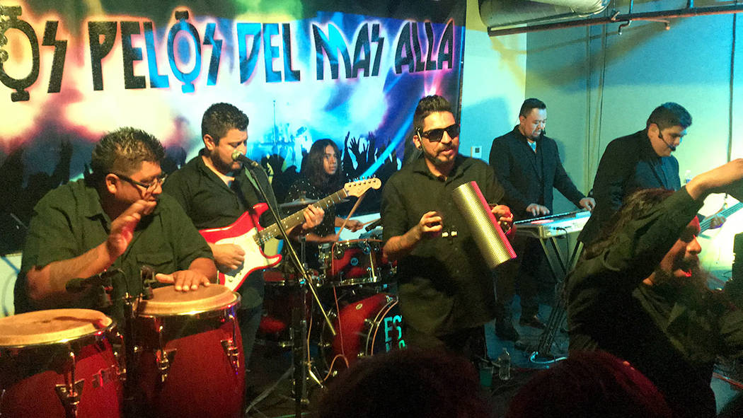 'La Cachimba', originarios de Mexicali, México, visitaron nuevamente Las Vegas para tocar ...