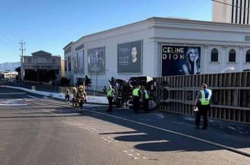 Según la Patrulla de Caminos de Nevada, ocurrió un accidente que involucró a un camión West ...