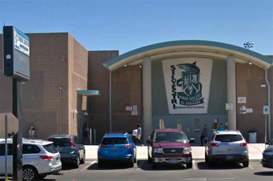 Silvestri Junior High School, Las Vegas (Google maps)