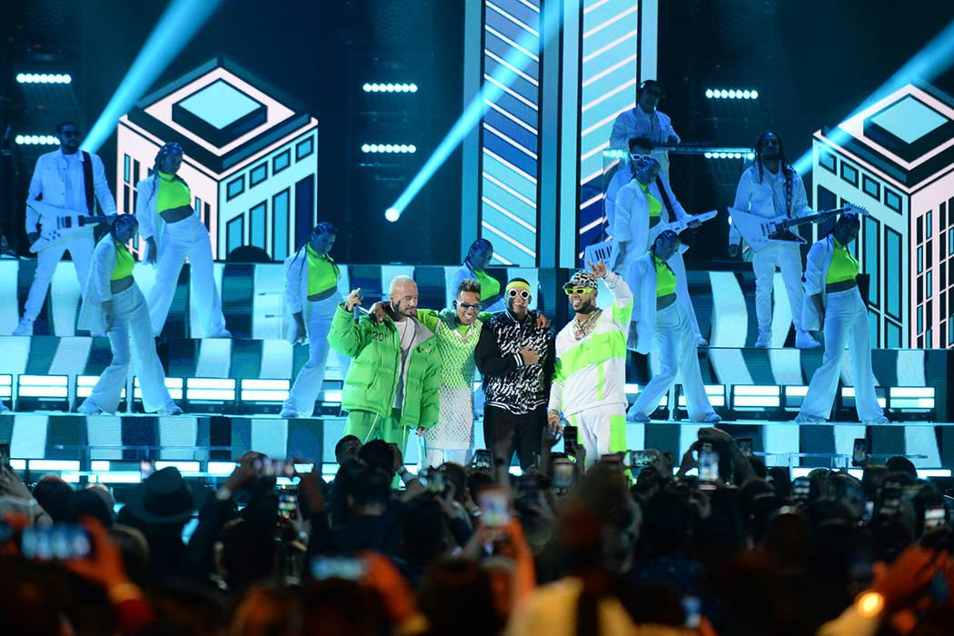 Los Premios Billboard de la Música Latina 2019 tuvieron distintas intervenciones musicales, do ...