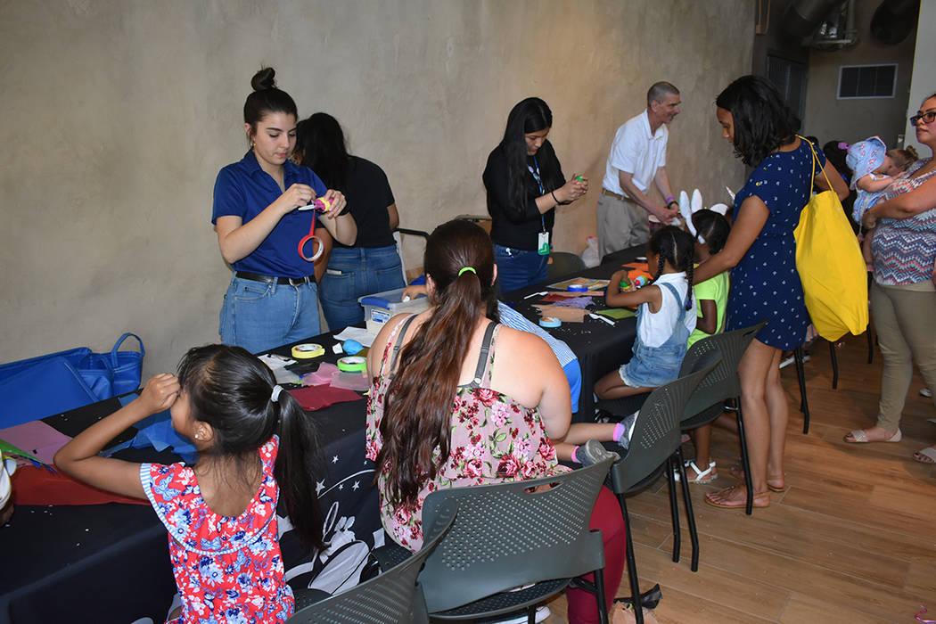 Distintas actividades interactivas se llevaron a cabo en la celebración por el Día del Niño. ...