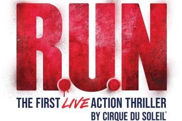 """Una imagen promocional para el nuevo espectáculo del Cirque du Soleil """"R.U.N."""" La producción ..."""