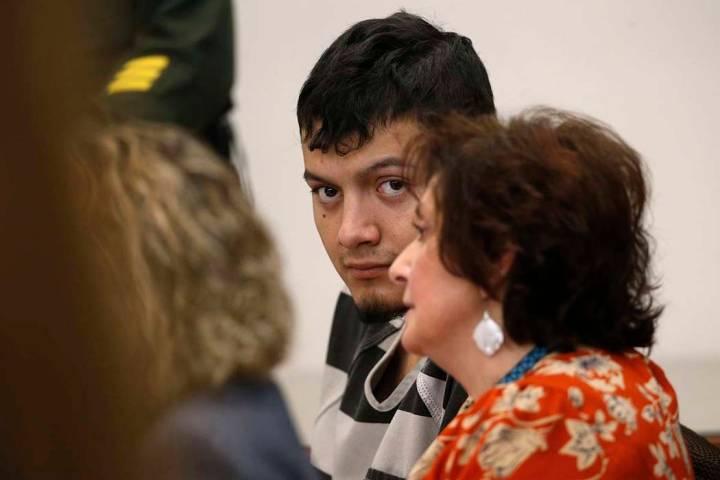 Wilber Martínez-Guzmán aparece en el Tribunal de Justicia de Carson City, en Carson City, el ...