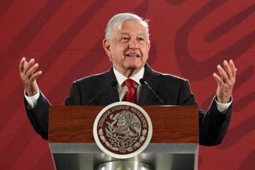 ARCHIVO. México, 1 May 2019 (Notimex-Javier Lira).- El presidente Andrés Manuel López Obrado ...