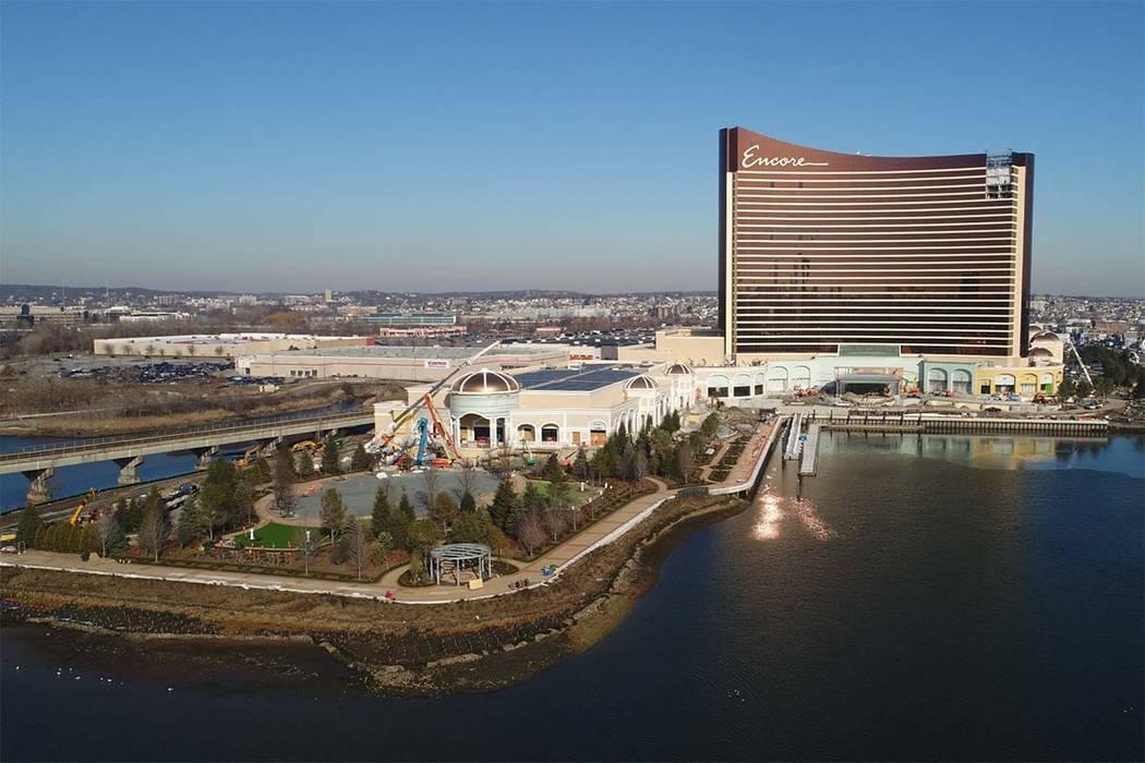 Wynn Resorts Ltd., con sede en Las Vegas, planea abrir el Encore Boston Harbor de 2.600 millone ...
