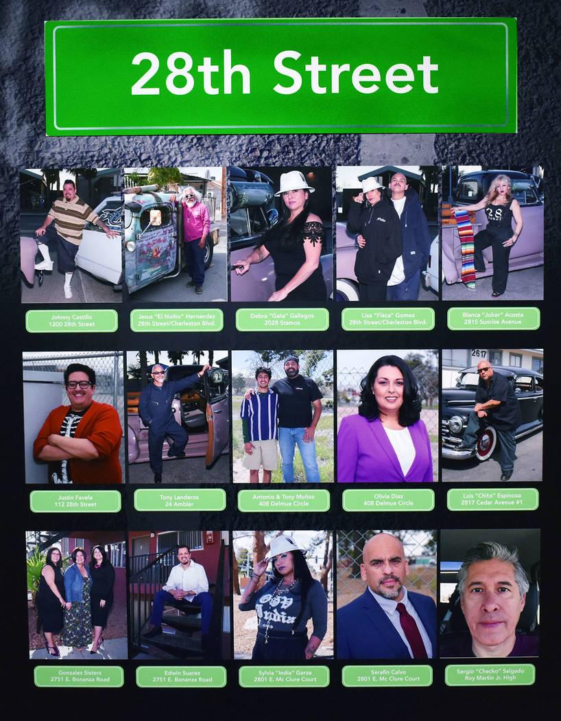 Recopilación de fotografías que documentan la comunidad de la calle 28. Jueves 2 de mayo en l ...