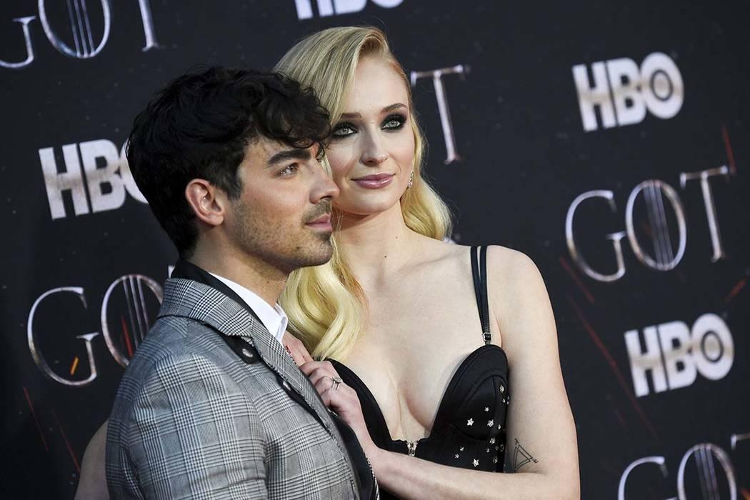 Sophie Turner y el músico Joe Jonas se casaron en Little White Wedding Chapel en Las Vegas el ...