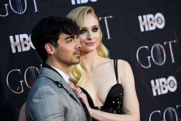 Sophie Turner y el músico Joe Jonas se casaron en Little White Wedding Chapel en Las Vegas el ...