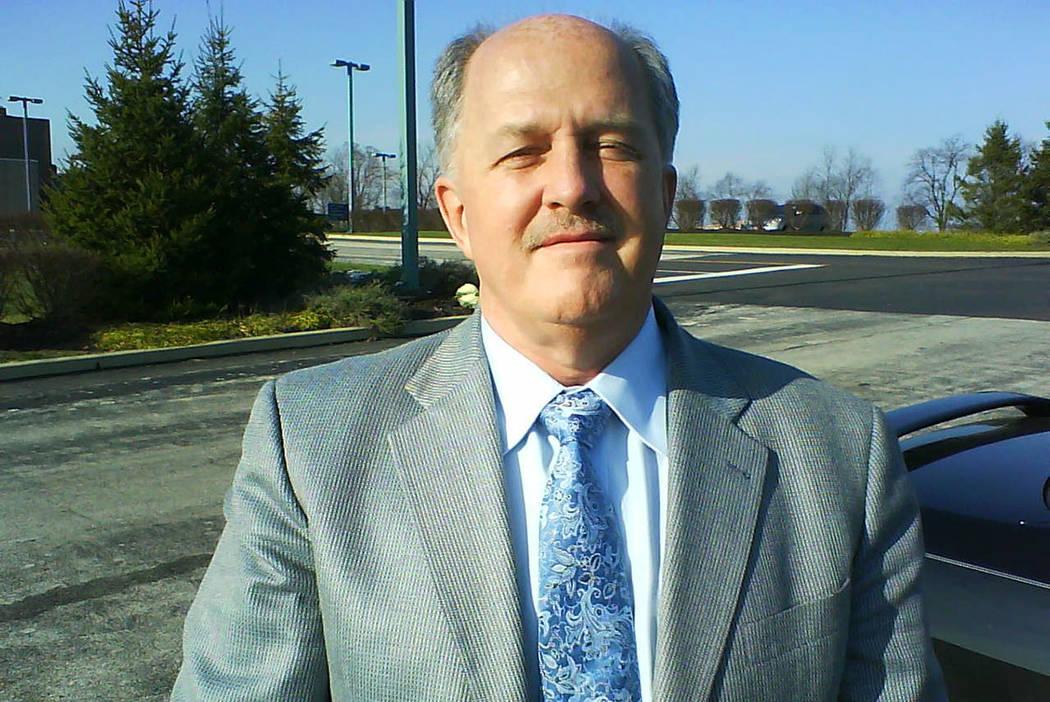 Una foto de John Thomas tomada en 2009 por un ex compañero de trabajo y enviada al Review-Jour ...