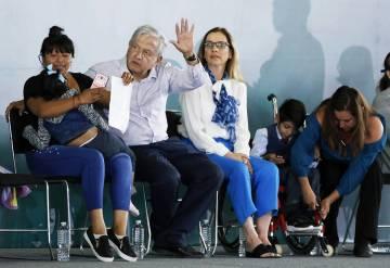 ARCHIVO. Puebla, 10 Mar 2019 (Notimex-Arturo Monroy).- El presidente de México, Andrés Manuel ...