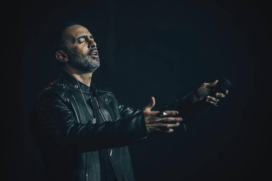 Mario Domm deleitó al público de Las Vegas con su excelsa voz durante el concierto '4 Latid ...