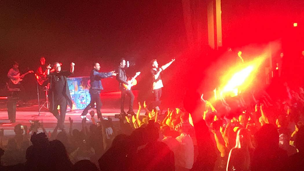 La gira '4 Latidos Tour' que presentan Camila y Sin Bandera llegó exitosamente a Las Vegas ...