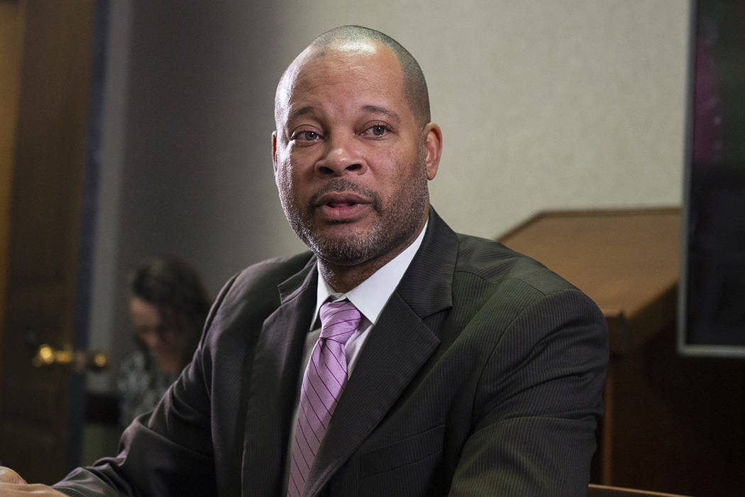 Fiscal General de Nevada, Aaron Ford (Caroline Brehman/Las Vegas Review-Journal) @carolinebrehman