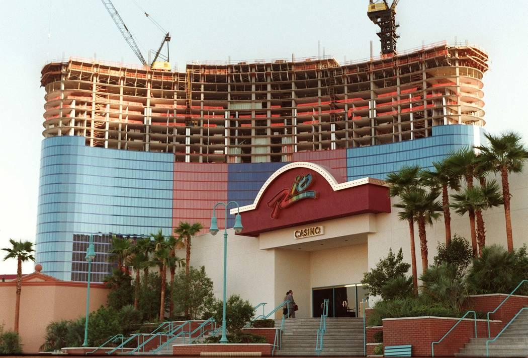 The Rio en construcción en 1996. (Las Vegas Review-Journal)
