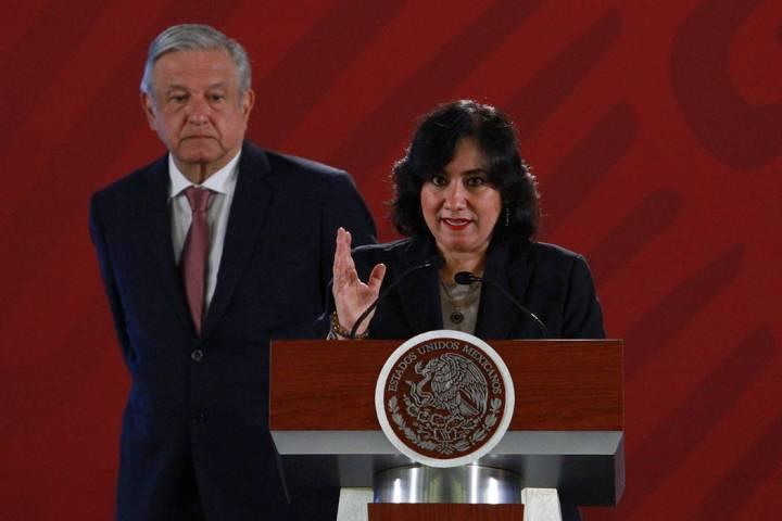 ARCHIVO. México, 15 Abr 2019 (Notimex- Francisco Estrada).- La titular de la Secretaría de la ...