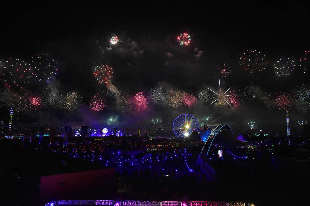 Del 17 al 19 de mayo de 2019 se realizará el Electric Daisy Carnival (EDC) en Las Vegas. Foto ...