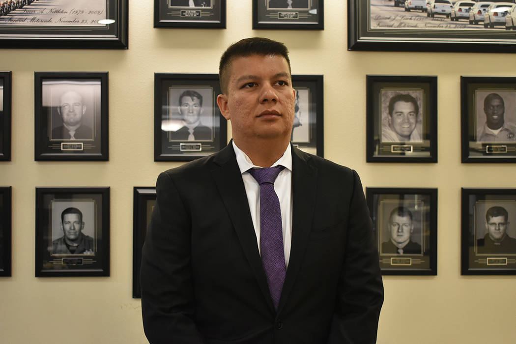 El oficial de LVMPD, Aden Ocampo-Gómez, informó que habrá vigilancia en el evento EDC de est ...