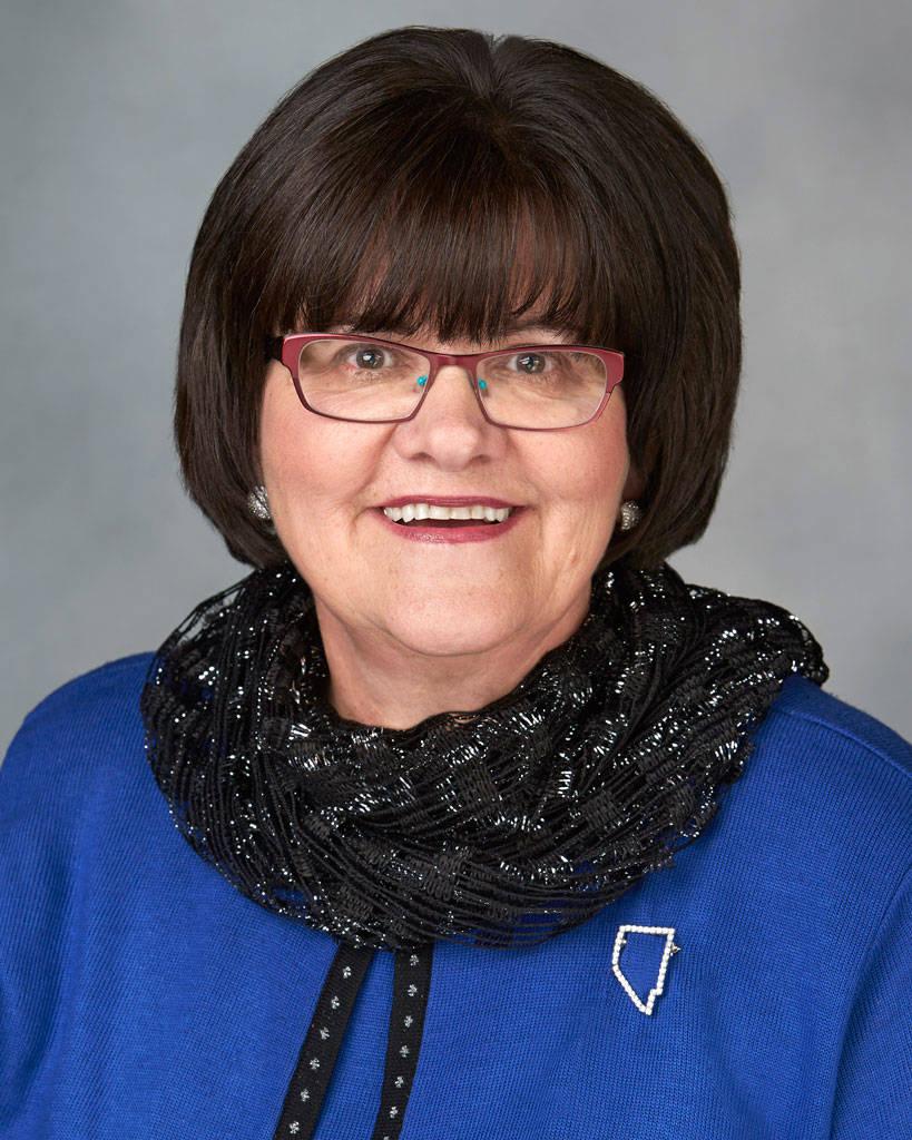La regente del Sistema de Educación Superior de Nevada, Cathy McAdoo. (NSHE)