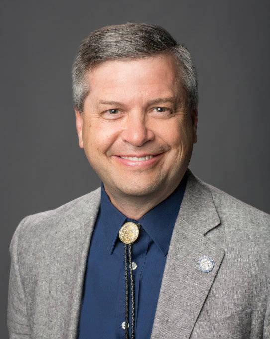 Jason Geddes, vicepresidente del Sistema de Educación Superior de Nevada. (NSHE)