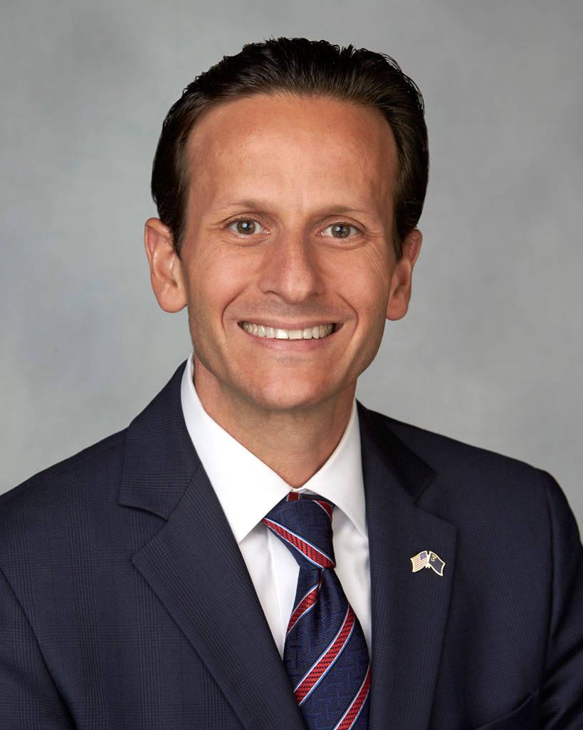 Regente del Sistema de Educación Superior de Nevada, John T. Moran. (NSHE)