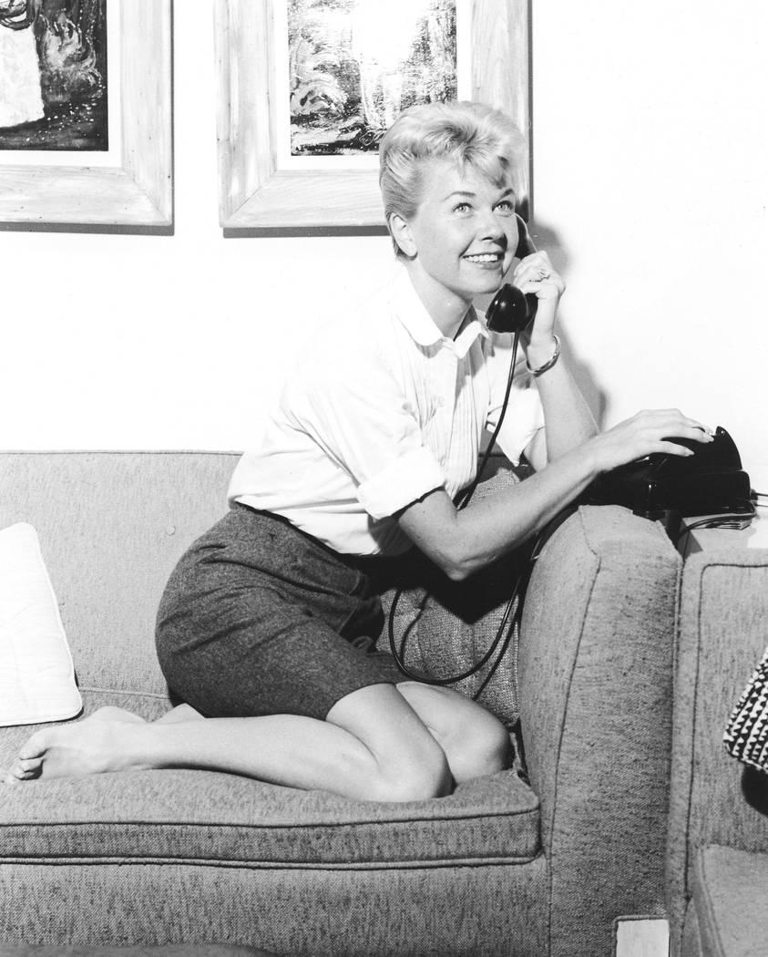 Doris Day fue fotografiada en el Sahara Hotel en 1956, el mismo año en que tuvo su gran papel ...