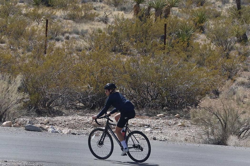Las Vegas Valley tendrá máximas a 90º esta semana. (Bizuayehu Tesfaye / Las Vegas Review-Jou ...