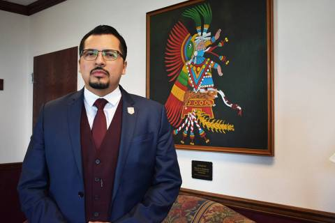 Archivo.- El asambleísta Edgar Flores se encuentra impulsando iniciativas que repercuten a la ...